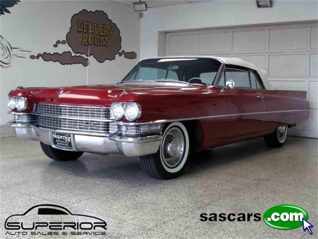 1963 Cadillac DeVille for Sale   ClicCars.com   CC-640938