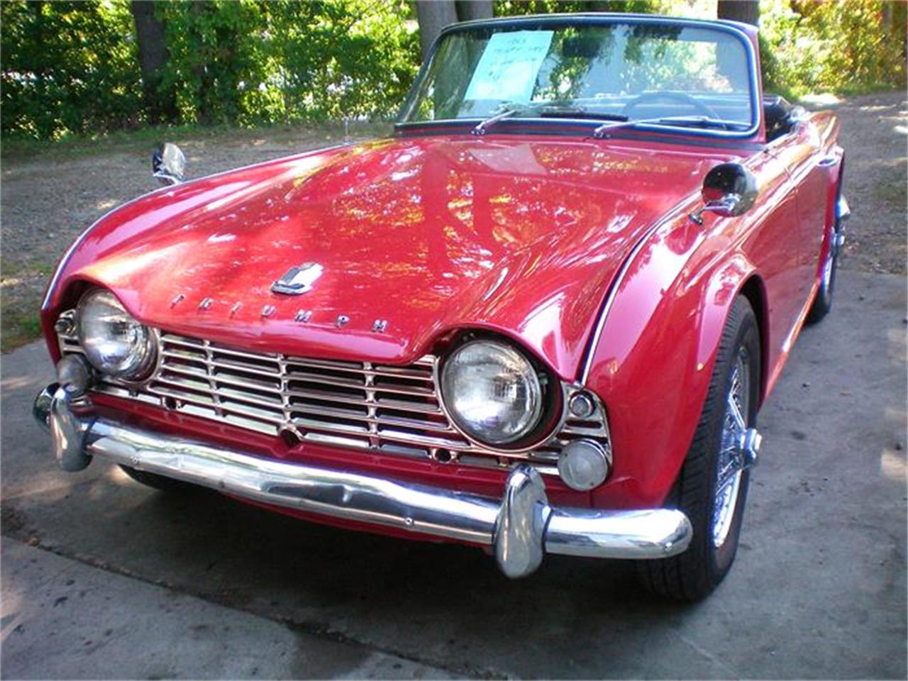 Large Picture of 1965 Triumph TR4 located in Rye New Hampshire - $29,900.00 Offered by Brit Bits - DZ95