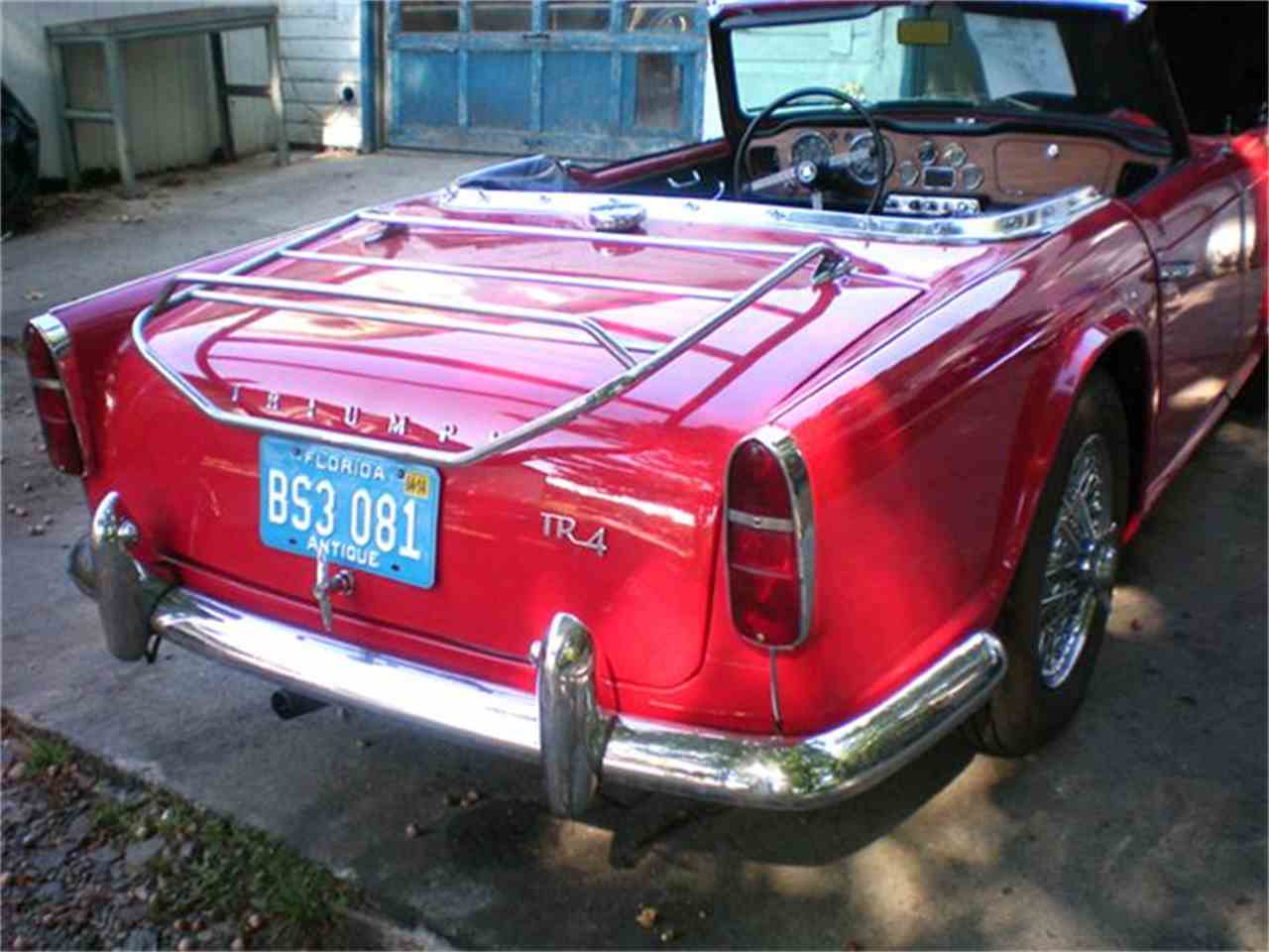 Large Picture of '65 TR4 - DZ95