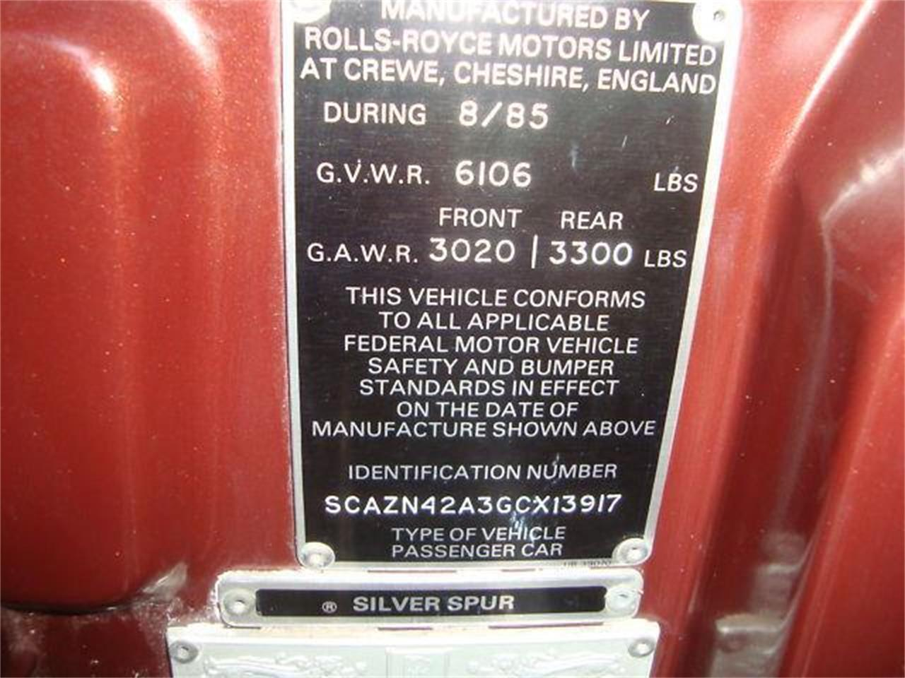 Large Picture of '86 Silver Spur located in Florida - $17,950.00 - DZYX