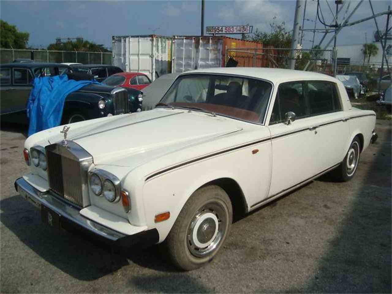 Large Picture of '76 Rolls-Royce Silver Shadow located in Fort Lauderdale Florida Offered by Prestigious Euro Cars - DZZ2