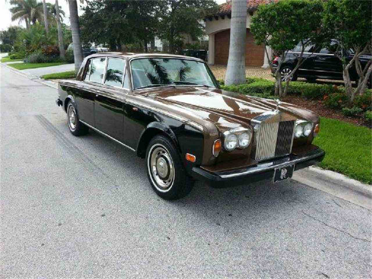 1978 rolls royce silver shadow for sale cc 653186. Black Bedroom Furniture Sets. Home Design Ideas