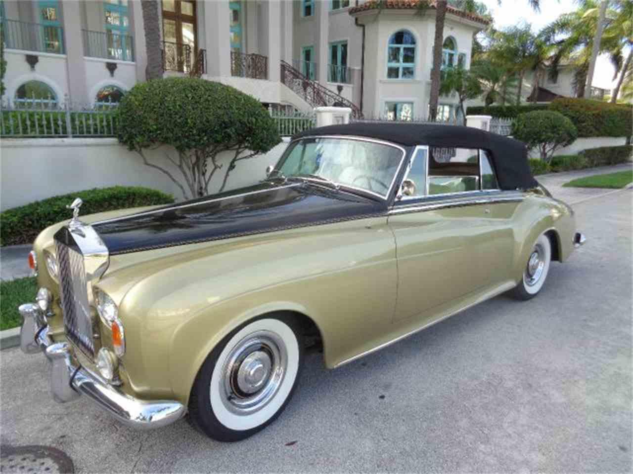 1963 rolls royce silver cloud iii for sale cc 653193. Black Bedroom Furniture Sets. Home Design Ideas