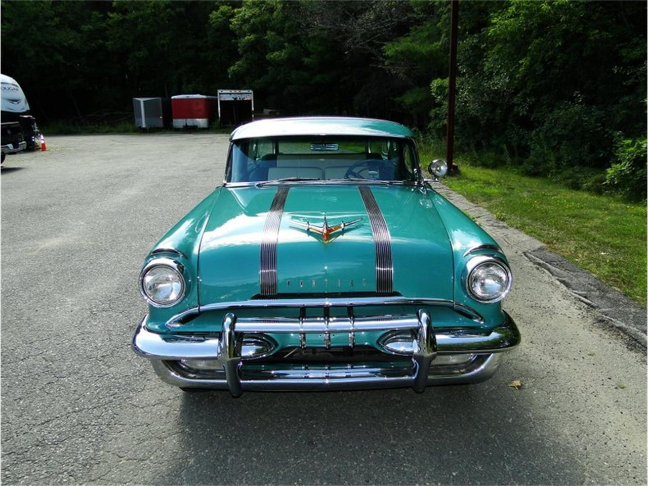 Large Picture of 1955 Pontiac Safari located in Beverly Massachusetts - $75,000.00 Offered by Legendary Motors LLC - E1AK