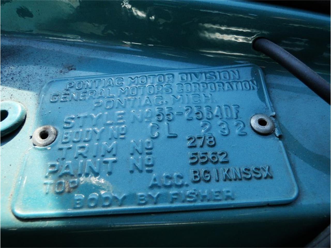Large Picture of Classic '55 Pontiac Safari Offered by Legendary Motors LLC - E1AK