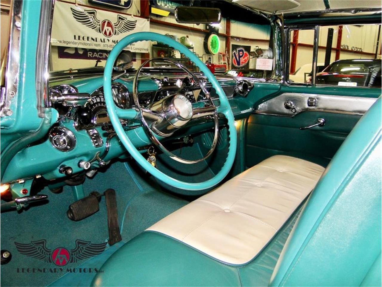 Large Picture of Classic 1955 Pontiac Safari located in Beverly Massachusetts Offered by Legendary Motors LLC - E1AK