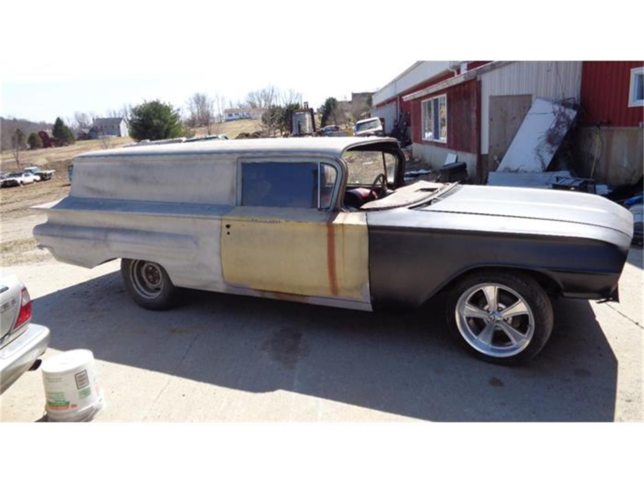 Large Picture of Classic 1960 Chevrolet Sedan Delivery located in Woodstock Connecticut - E3ZF