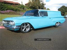 Picture of 1960 Chevrolet Sedan Delivery - E3ZF