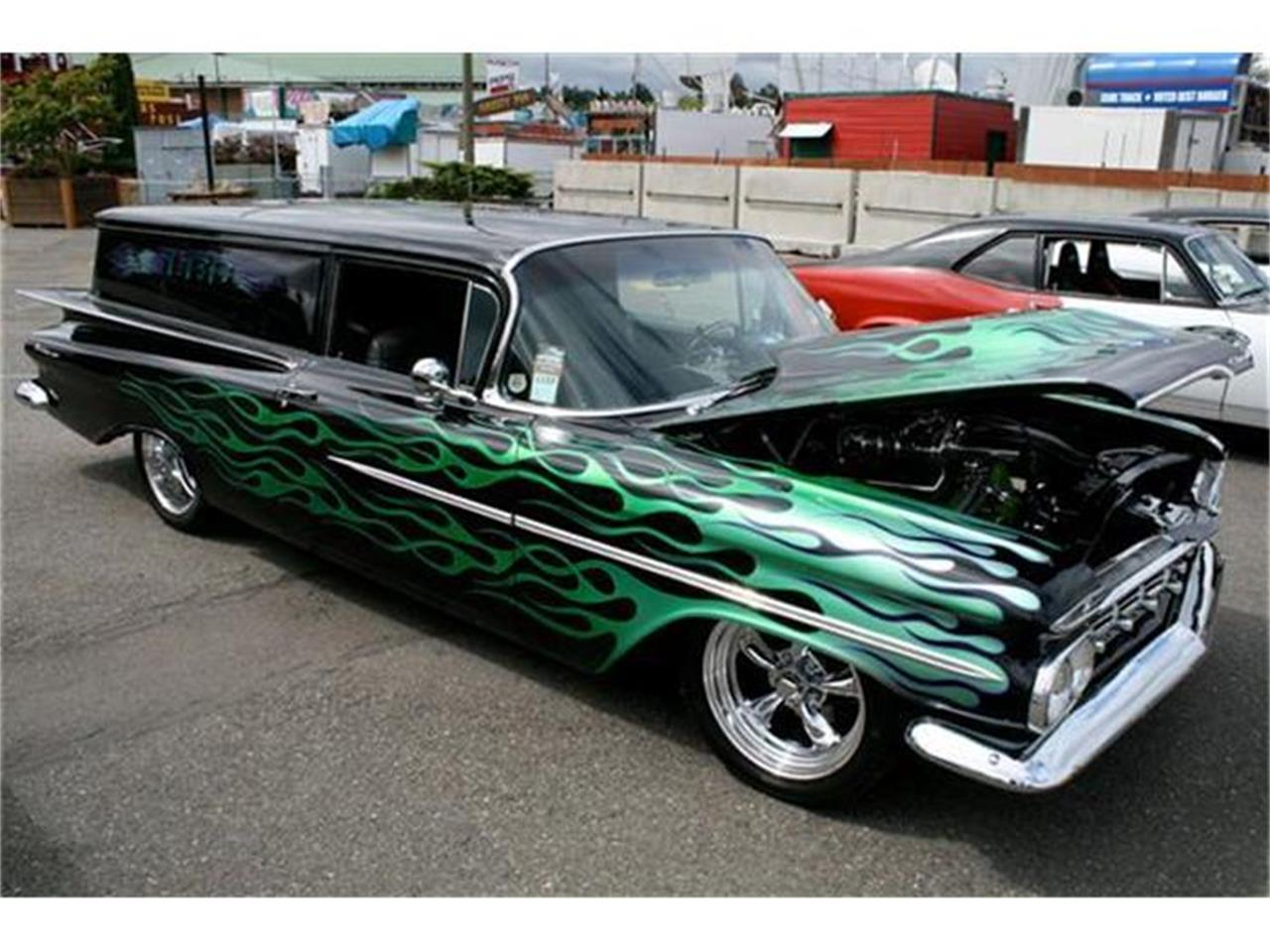 Large Picture of Classic 1960 Chevrolet Sedan Delivery located in Woodstock Connecticut Offered by Woottons Redline Classic Cars - E3ZF