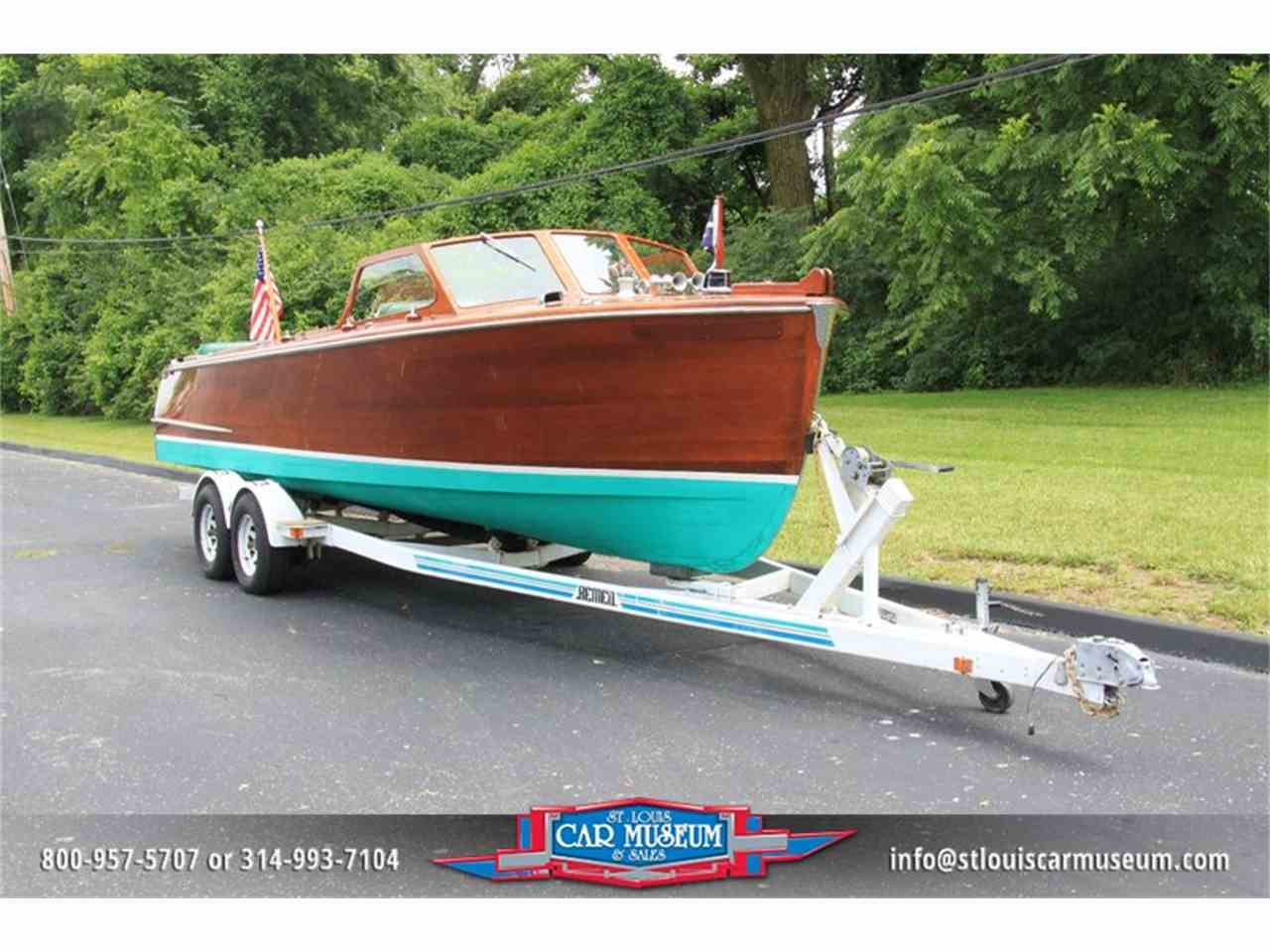 Large Picture of '50 26' Utility Mahogany Boat - E6W5