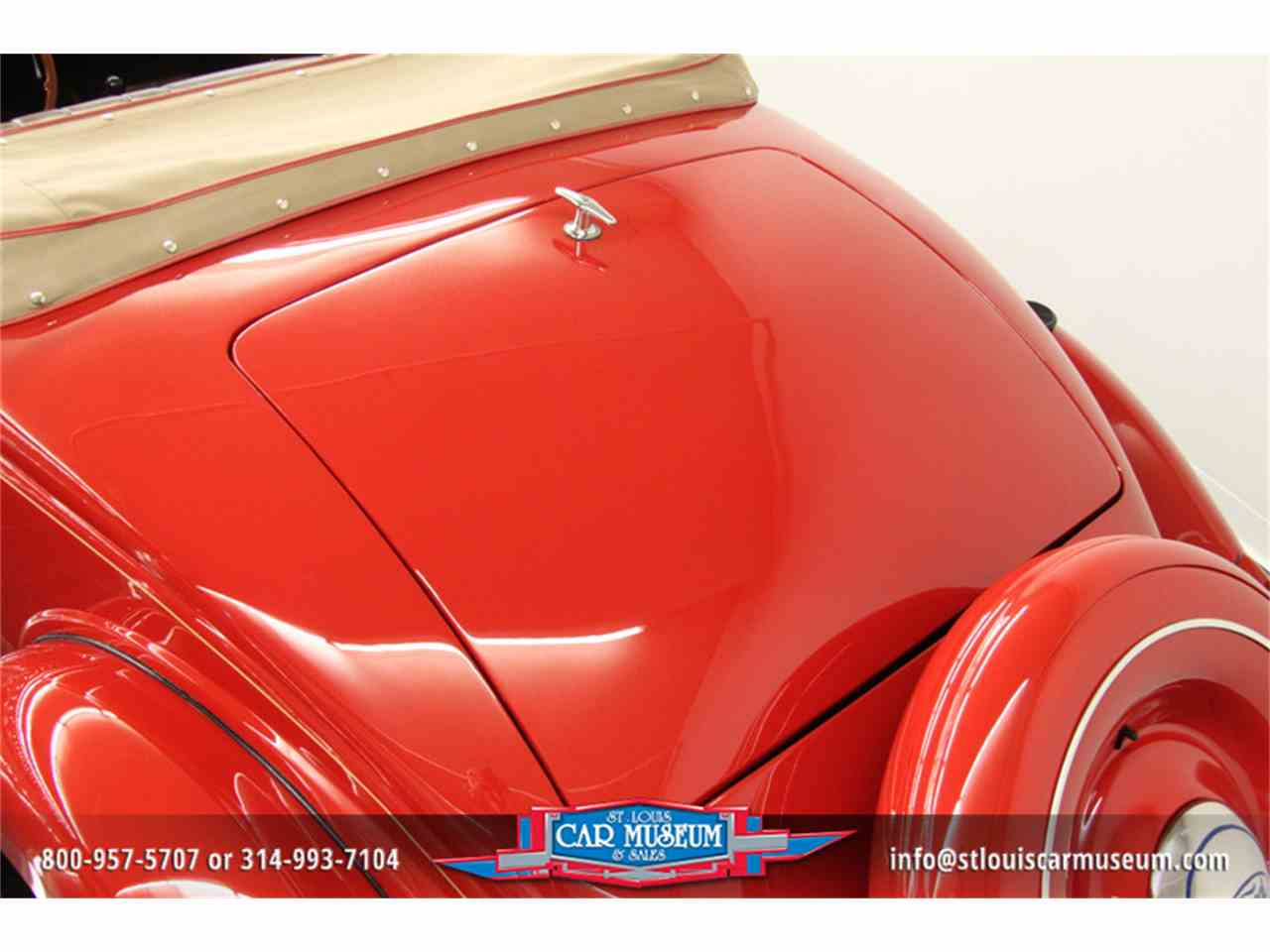 Large Picture of '36 Model 68 Deluxe Rumble-Seat Cabriolet - E6X9