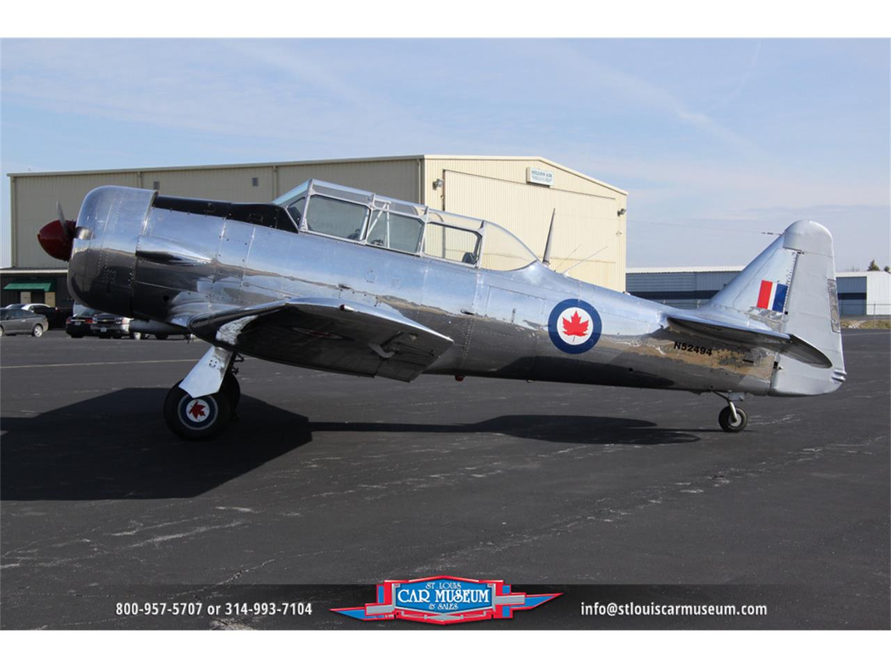 Large Picture of '54 Aircraft Offered by St. Louis Car Museum - E6XF