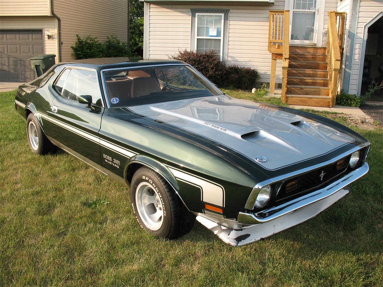 Large Picture of 1972 Ford Mustang located in Ohio - E7KK