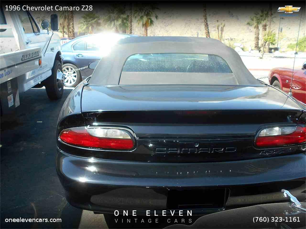 1996 chevrolet camaro z28 for sale cc 663162. Black Bedroom Furniture Sets. Home Design Ideas