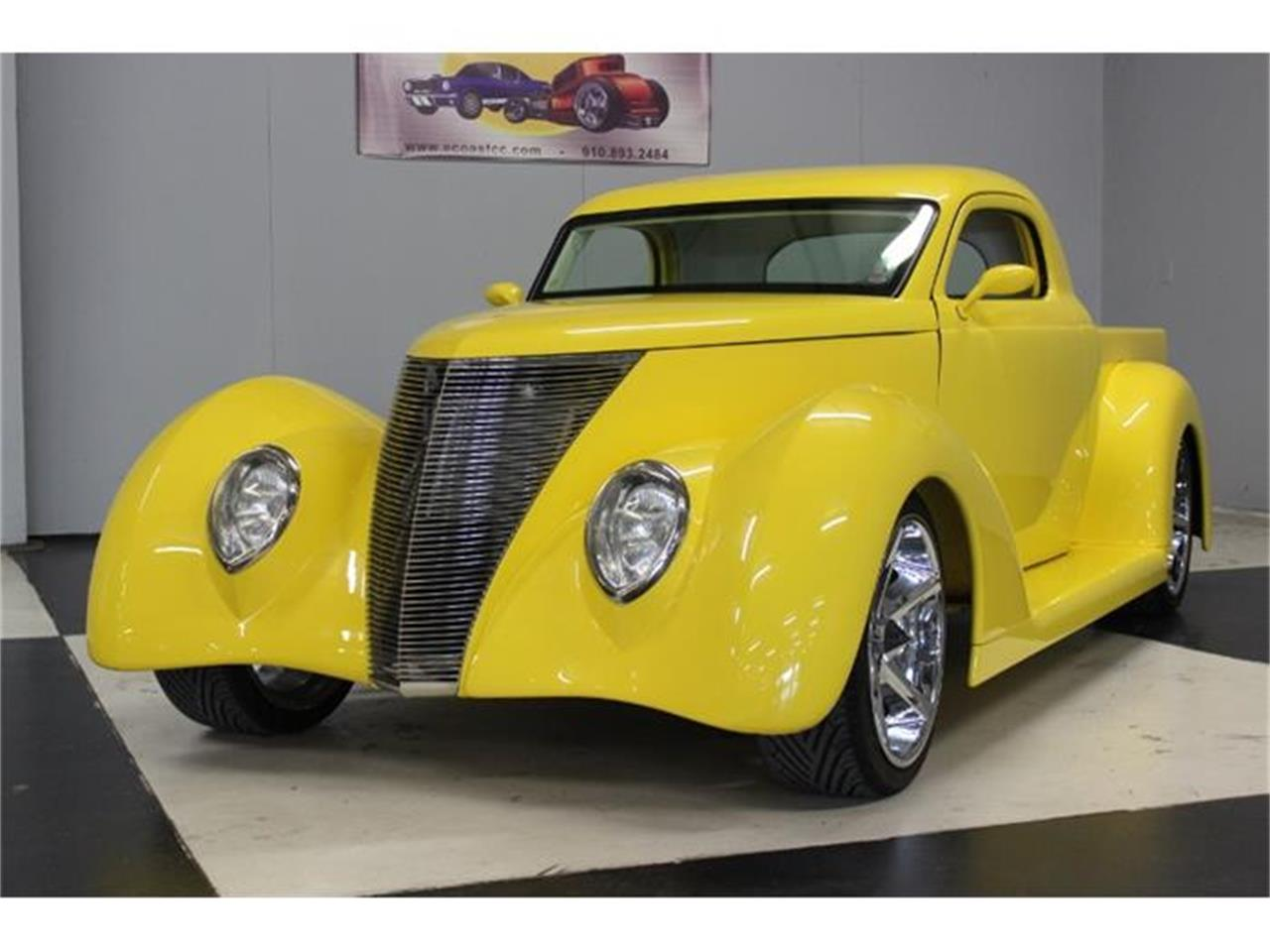 Large Picture of 1937 Ford Pickup located in Lillington North Carolina - $40,000.00 Offered by East Coast Classic Cars - E893