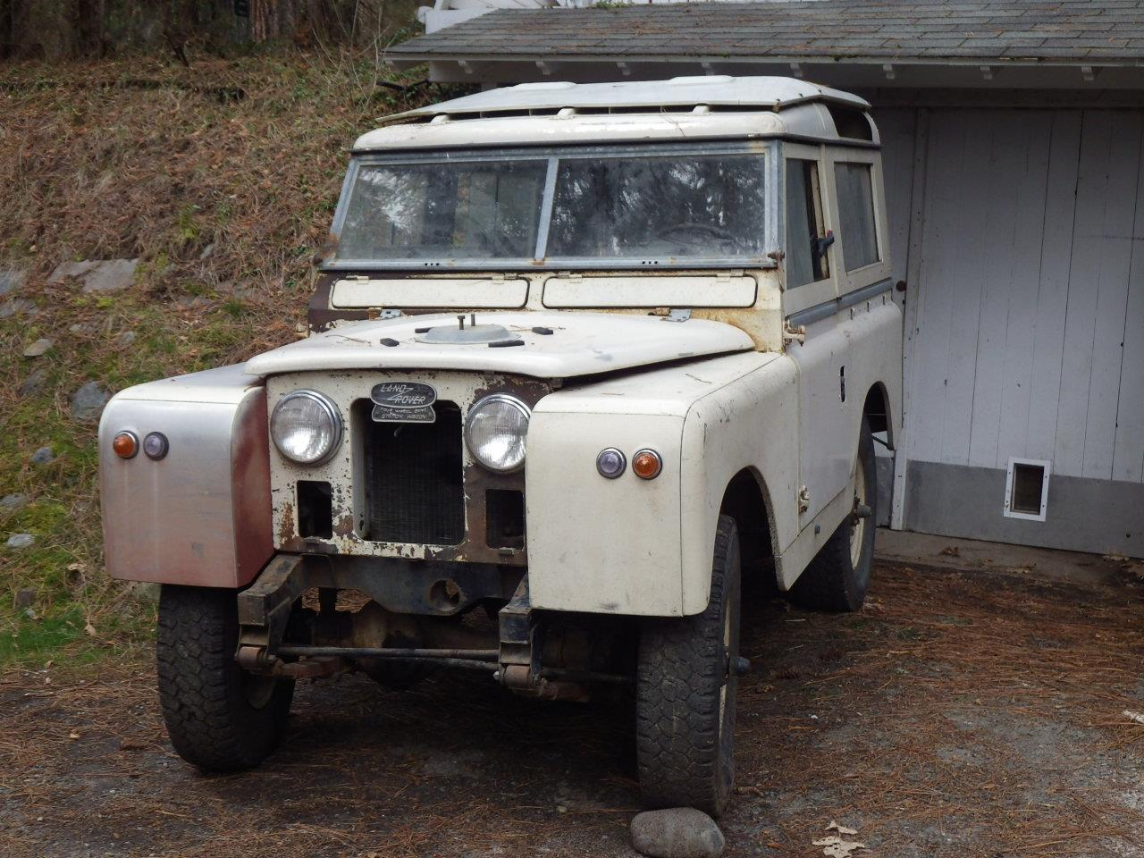 Large Picture of Classic 1964 Land Rover Series IIA - $5,400.00 - E8JT
