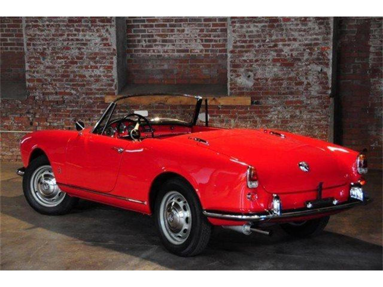 Large Picture of 1960 Alfa Romeo Giulietta Spider located in Marina Del Rey California Offered by Chequered Flag International - E98E