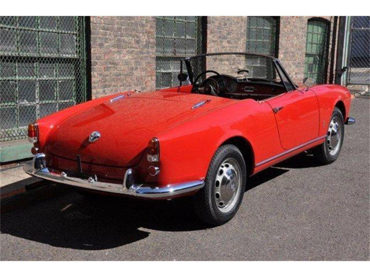 Large Picture of Classic '60 Giulietta Spider located in California - $102,500.00 Offered by Chequered Flag International - E98E