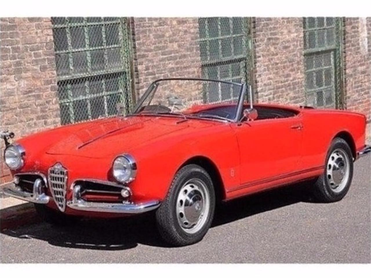 Large Picture of Classic '60 Alfa Romeo Giulietta Spider Offered by Chequered Flag International - E98E