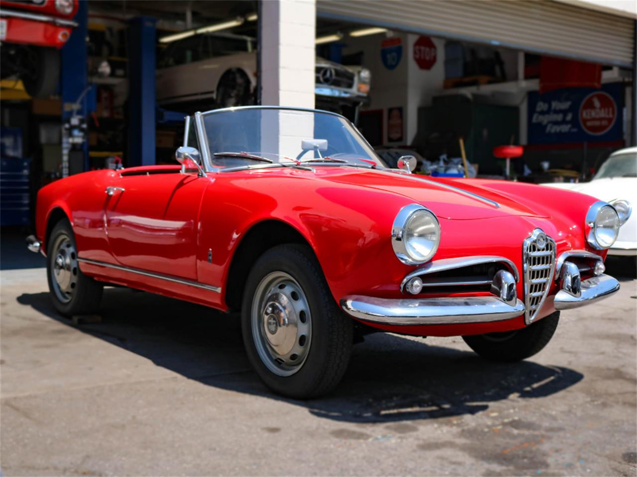 Large Picture of Classic '60 Alfa Romeo Giulietta Spider located in Marina Del Rey California Offered by Chequered Flag International - E98E