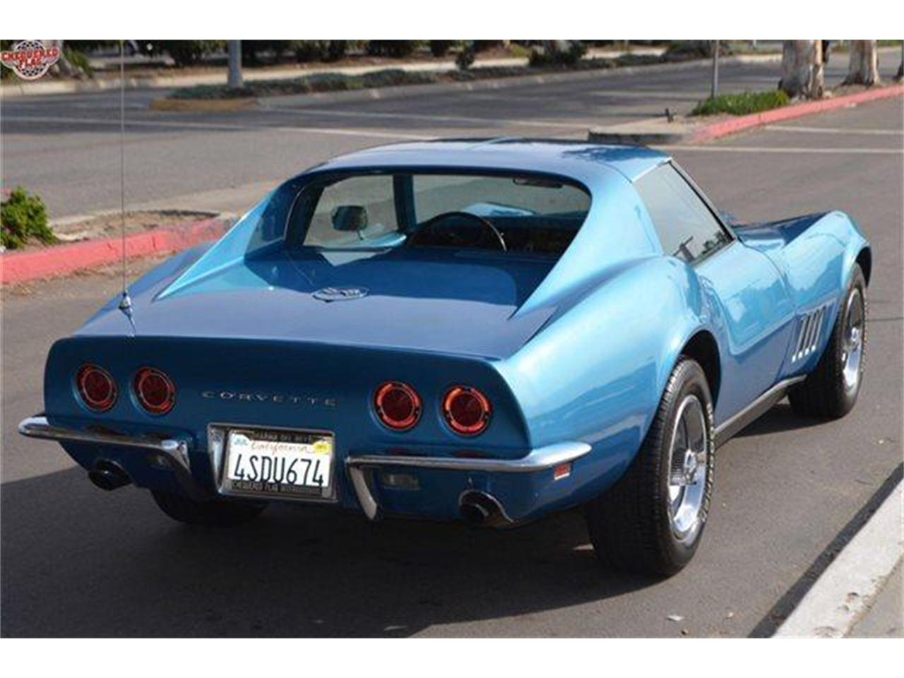 Large Picture of Classic 1968 Chevrolet Corvette located in Marina Del Rey California - E99M