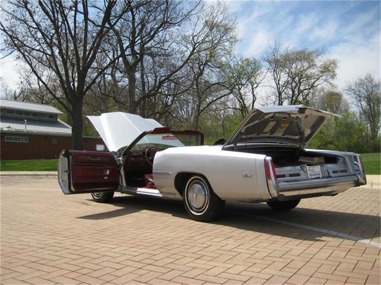 Large Picture of 1975 Cadillac Eldorado located in Geneva Illinois Offered by Classic Auto Haus - E9SK