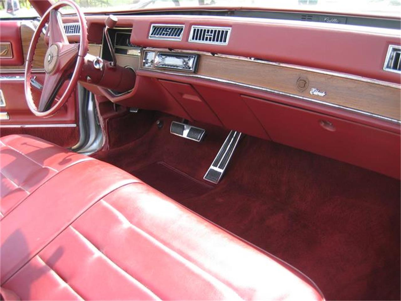 Large Picture of '75 Cadillac Eldorado located in Geneva Illinois Offered by Classic Auto Haus - E9SK