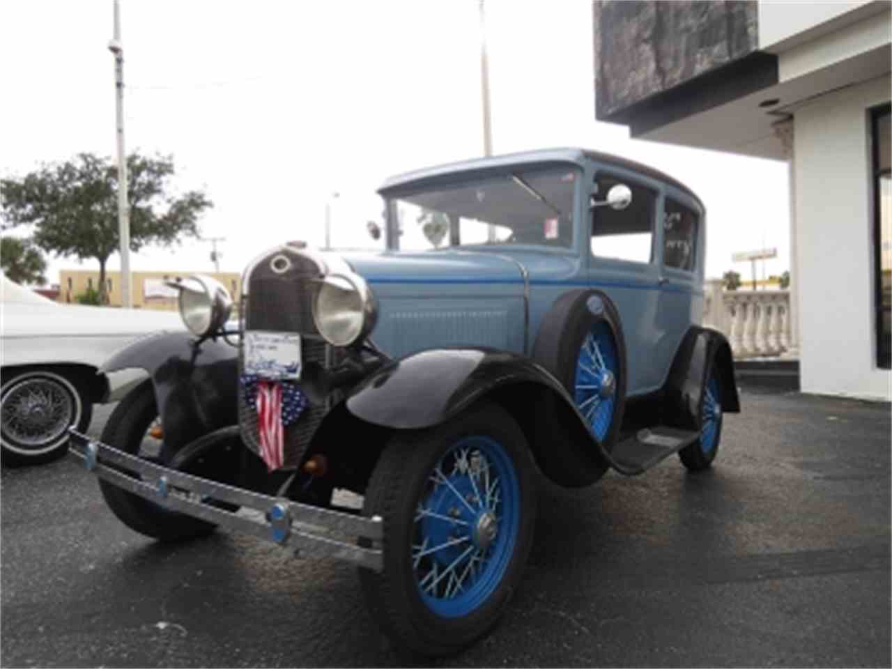 Large Picture of '31 Model A - E9W3