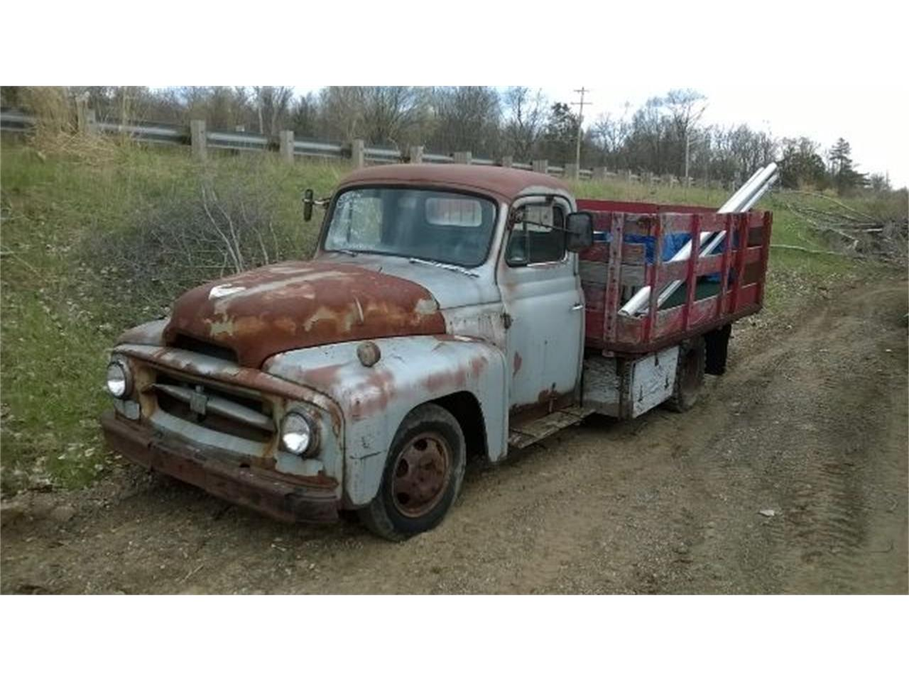 Large Picture of Classic '54 International 1 Ton Pickup located in Jackson Michigan Offered by Marshall Motors - EA4W
