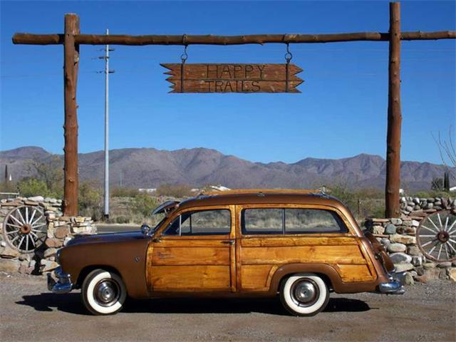 1951 Ford Woody Wagon