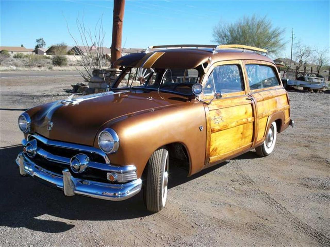 Large Picture of 1951 Ford Woody Wagon located in San Luis Obispo California - EACH
