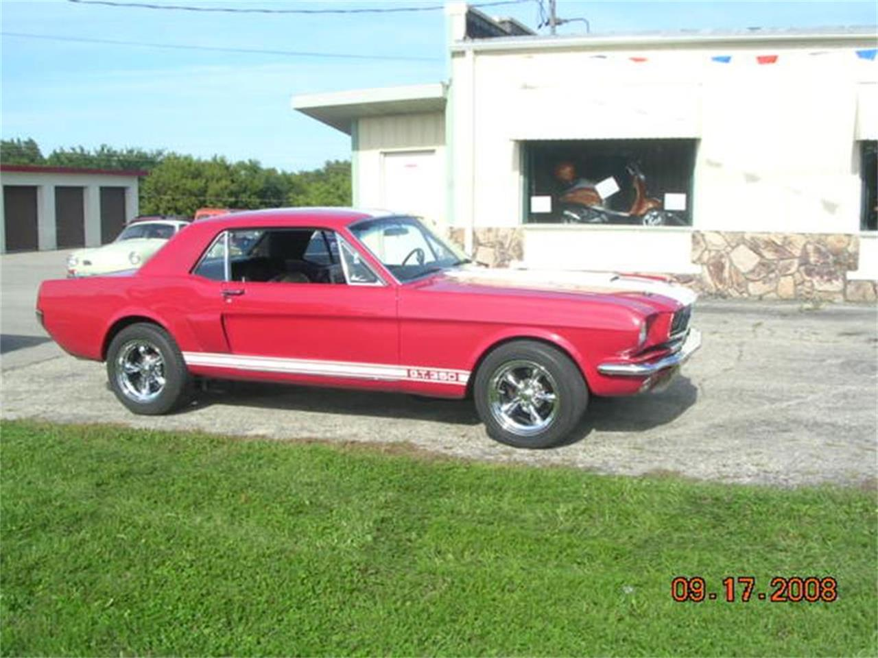 Large Picture of '66 Mustang - EAE7