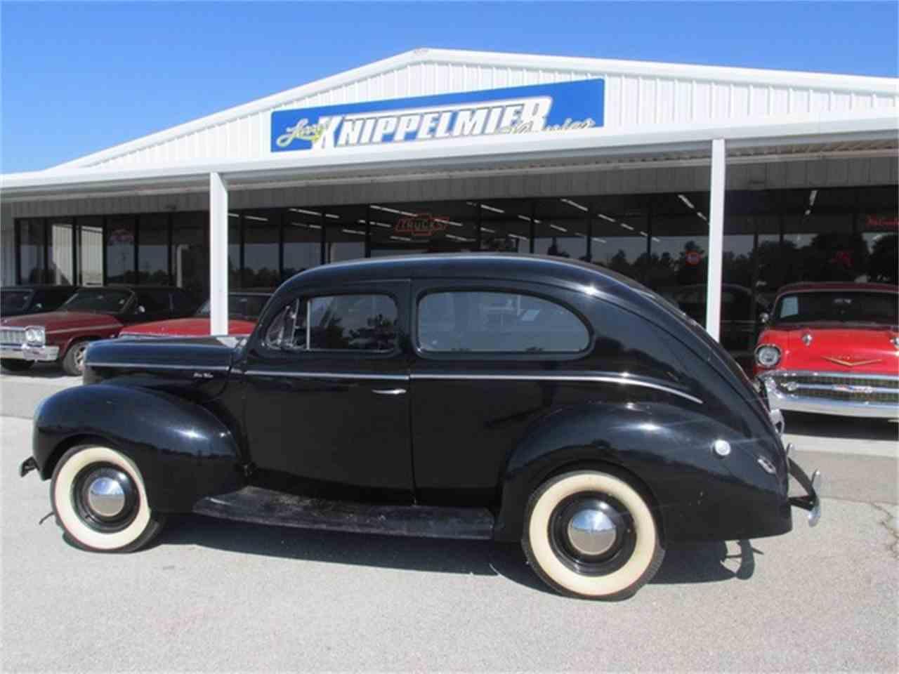 1940 ford 2 dr sedan for sale cc 668102. Black Bedroom Furniture Sets. Home Design Ideas