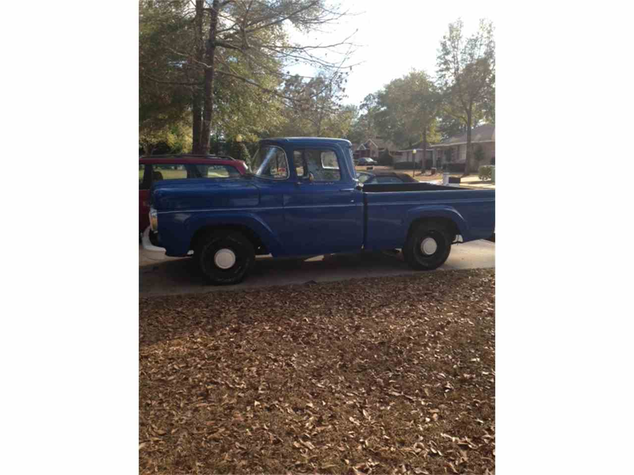 Large Picture of '58 F100 - $9,500.00 Offered by a Private Seller - EC4Z