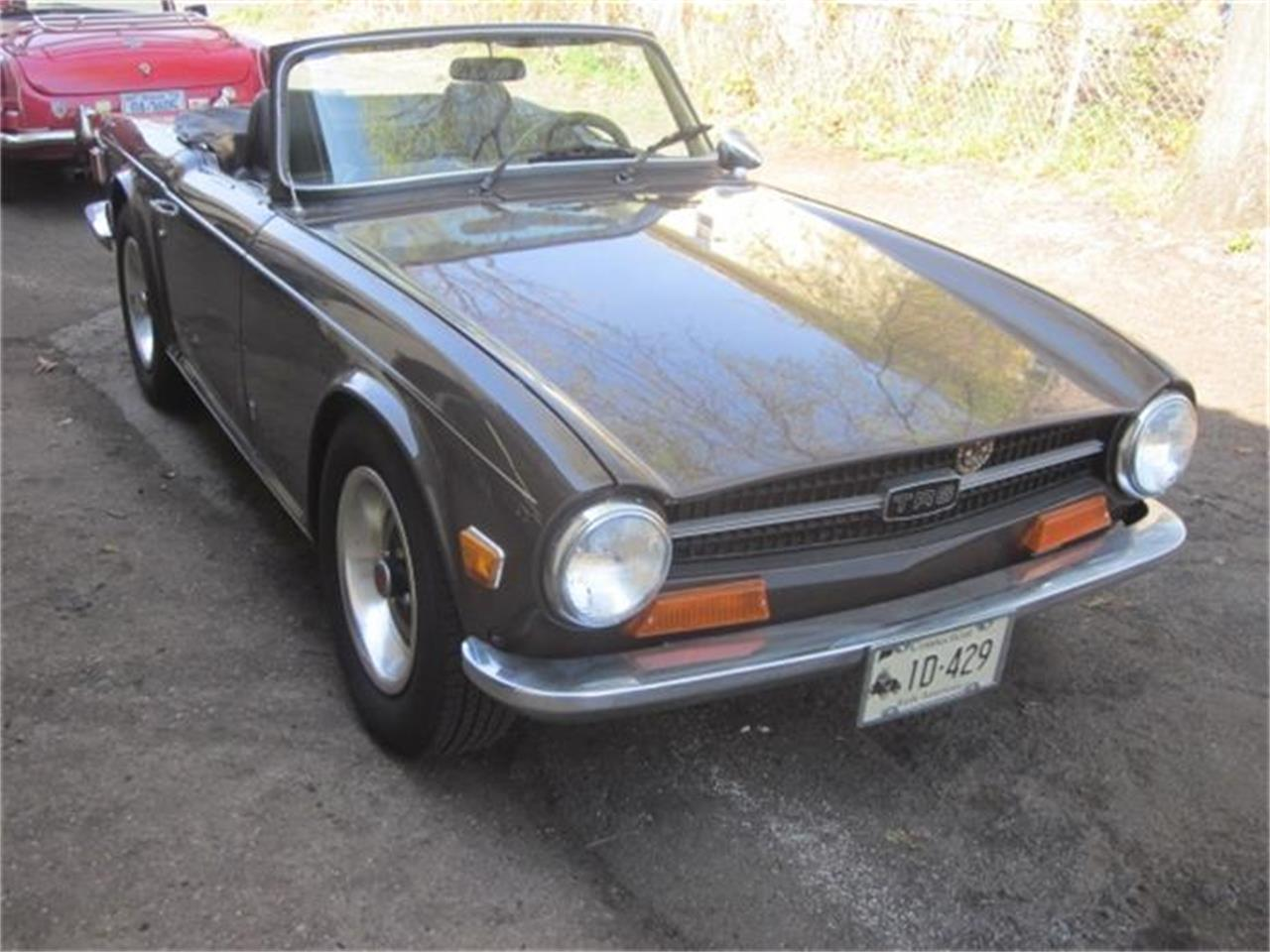 Large Picture of Classic '72 TR6 located in Connecticut Offered by The New England Classic Car Co. - EE2O