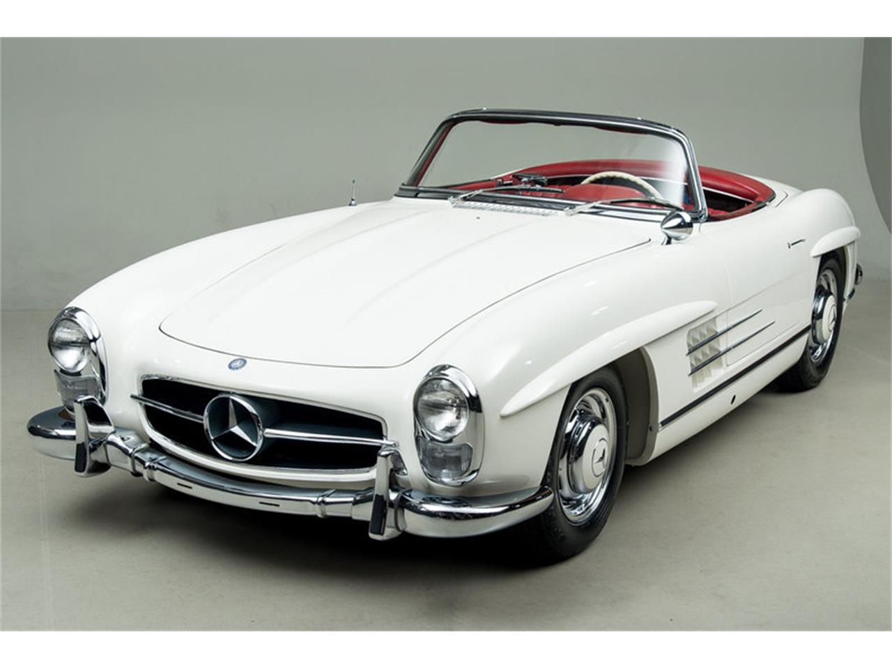Large Picture of Classic 1963 Mercedes-Benz 300SL Roadster located in Scotts Valley California Auction Vehicle Offered by Canepa - EFPZ