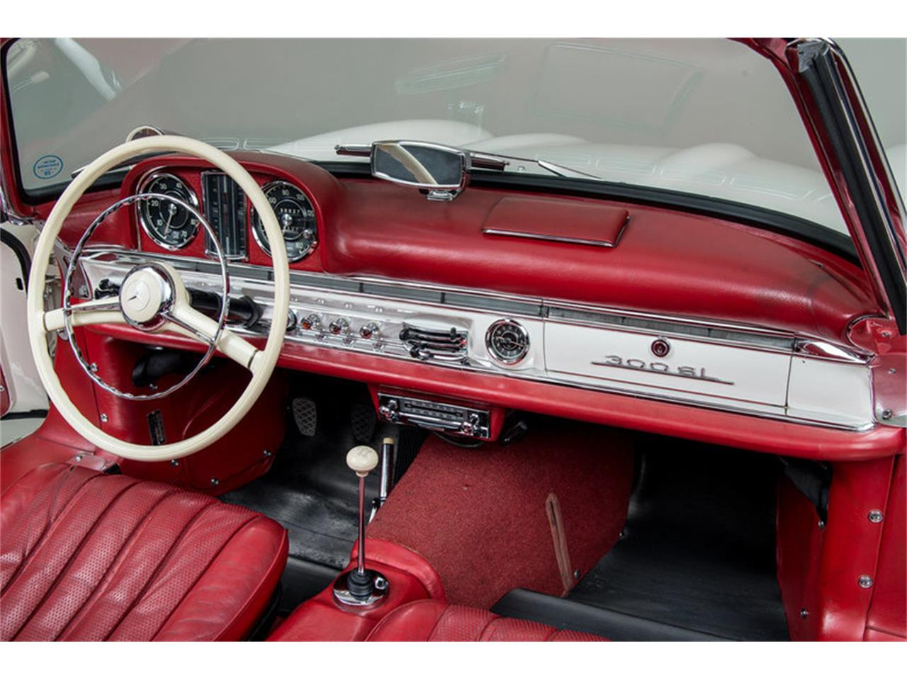 Large Picture of 1963 Mercedes-Benz 300SL Roadster located in Scotts Valley California Offered by Canepa - EFPZ