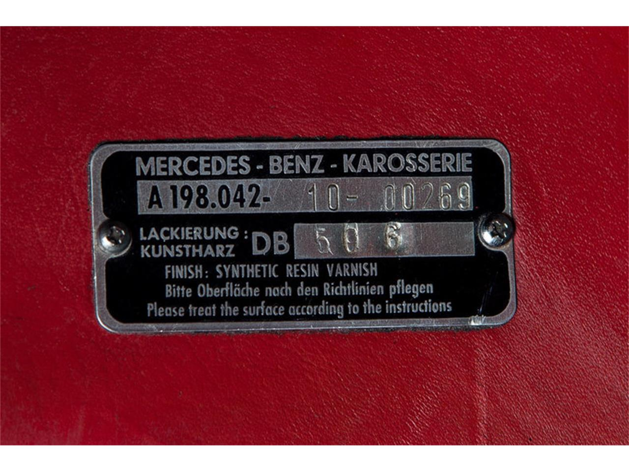 Large Picture of Classic 1963 300SL Roadster Auction Vehicle - EFPZ