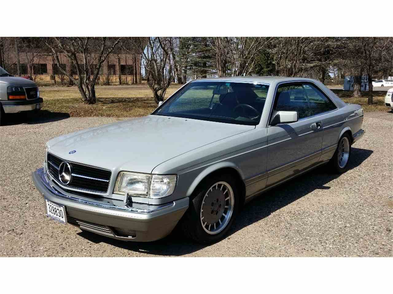 Large Picture of '87 Mercedes-Benz 560SEC located in Minnesota - $13,000.00 Offered by Classic Rides and Rods - EGAK
