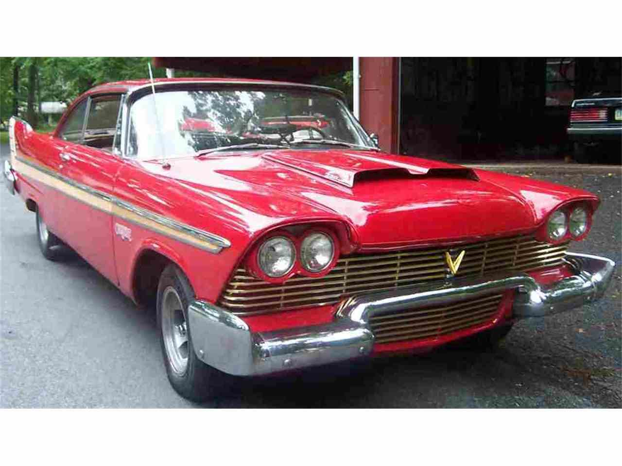 1958 plymouth fury for sale cc 678180. Black Bedroom Furniture Sets. Home Design Ideas