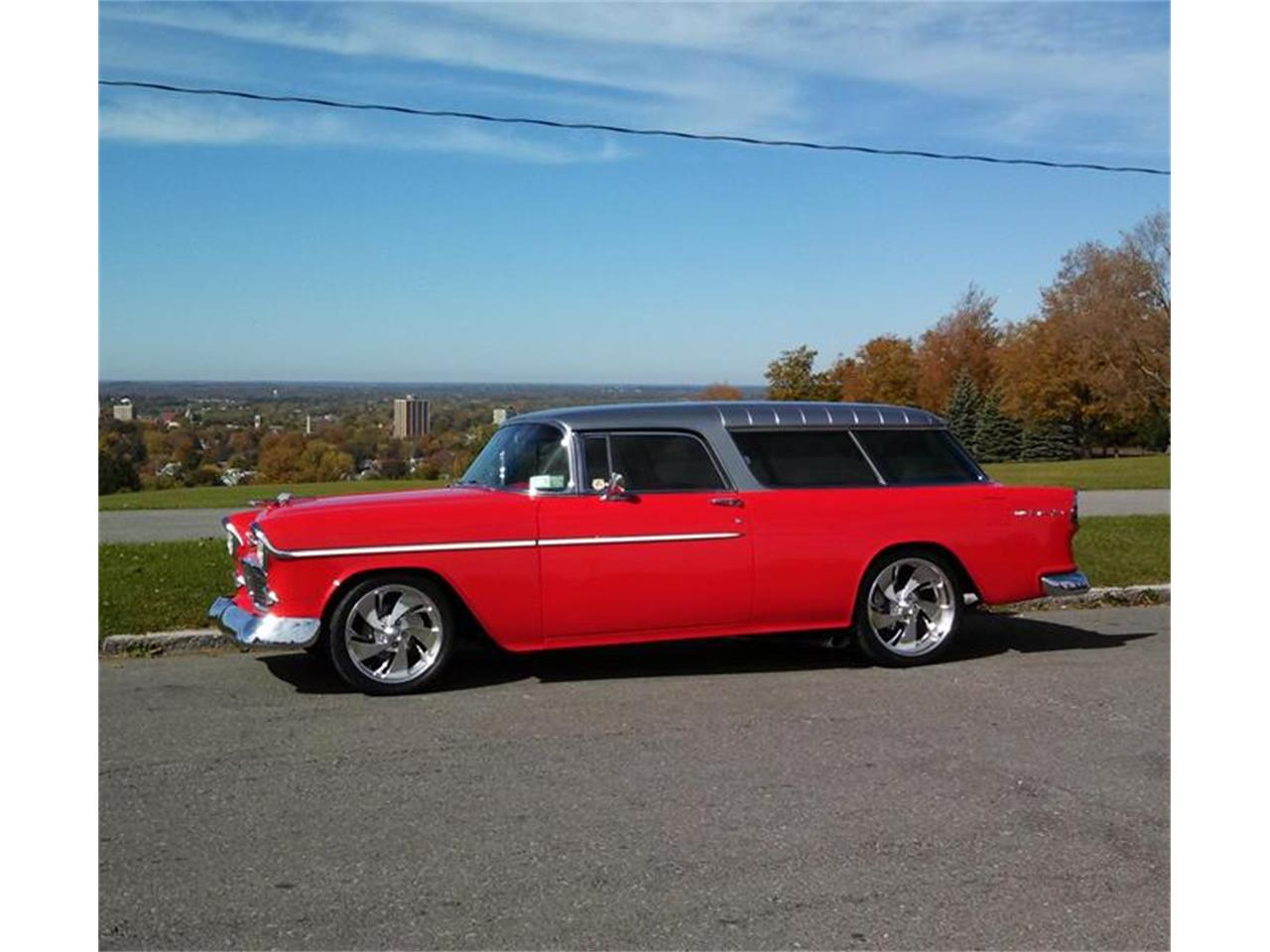 Large Picture of '55 Nomad located in San Luis Obispo California Offered by Classic Car Guy - EJBF