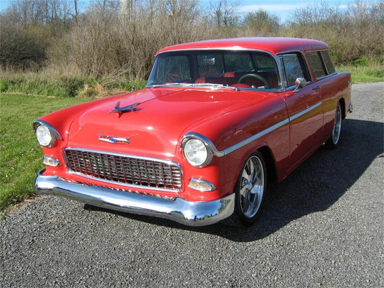Large Picture of '55 Chevrolet Nomad located in California - EJBF