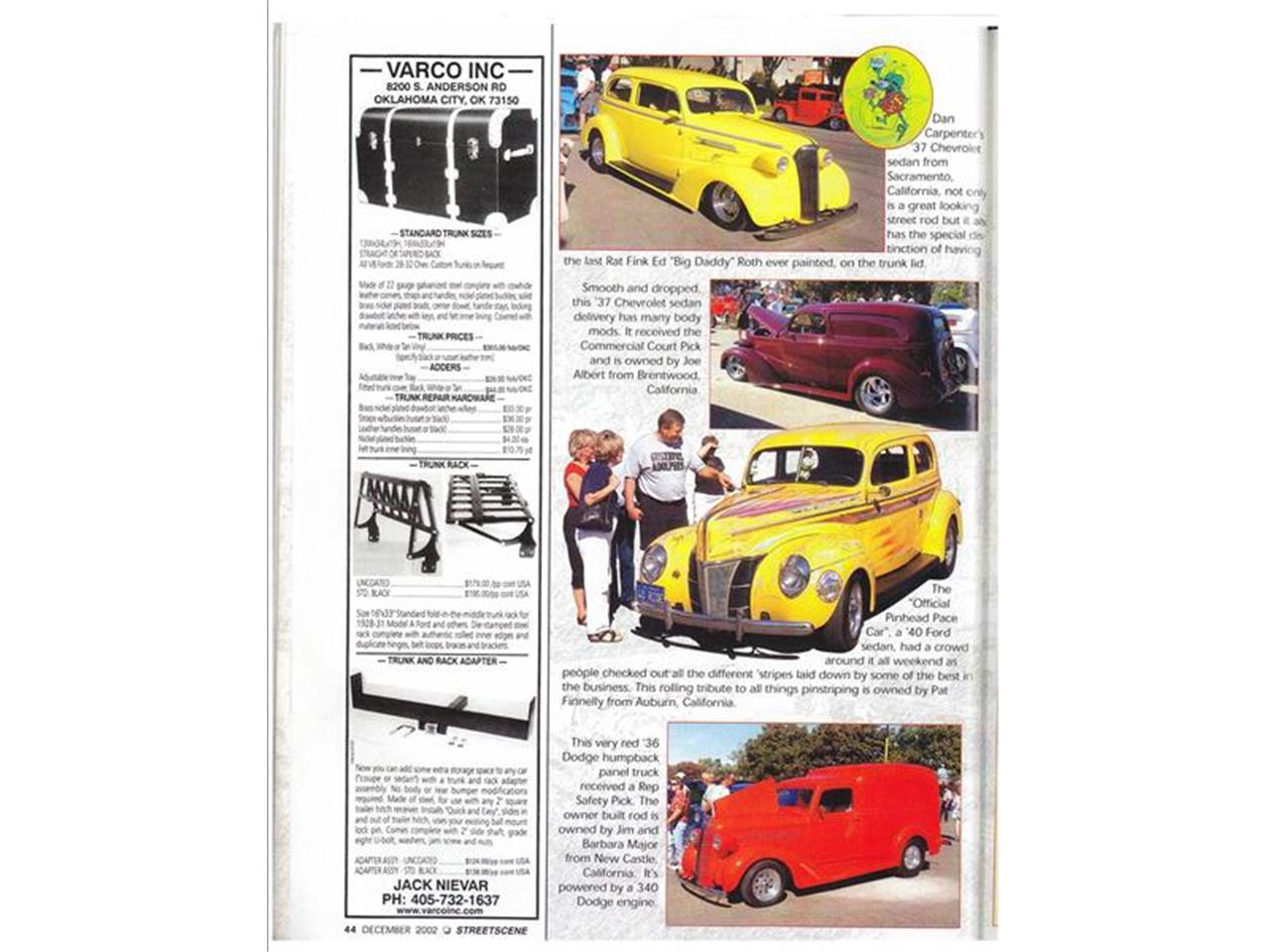 Large Picture of Classic 1937 Chevrolet 210 Auction Vehicle Offered by Classic Car Guy - EJBG