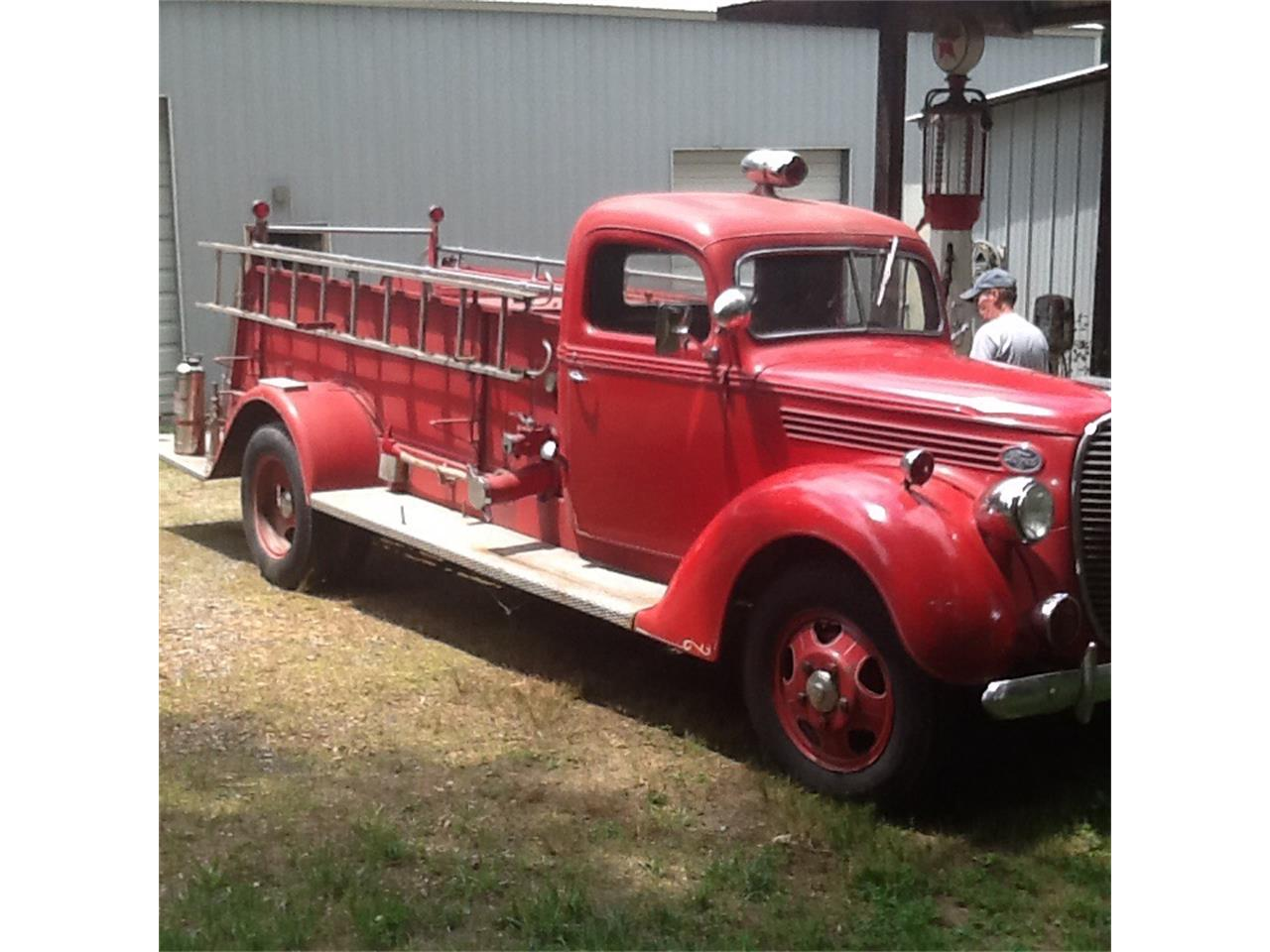 Large Picture of '38 Fire Truck - EKFK
