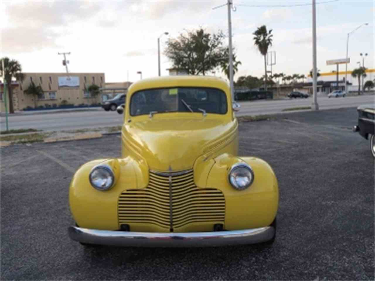 Large Picture of '40 Chevrolet Deluxe located in Florida Offered by Sobe Classics - EKLI
