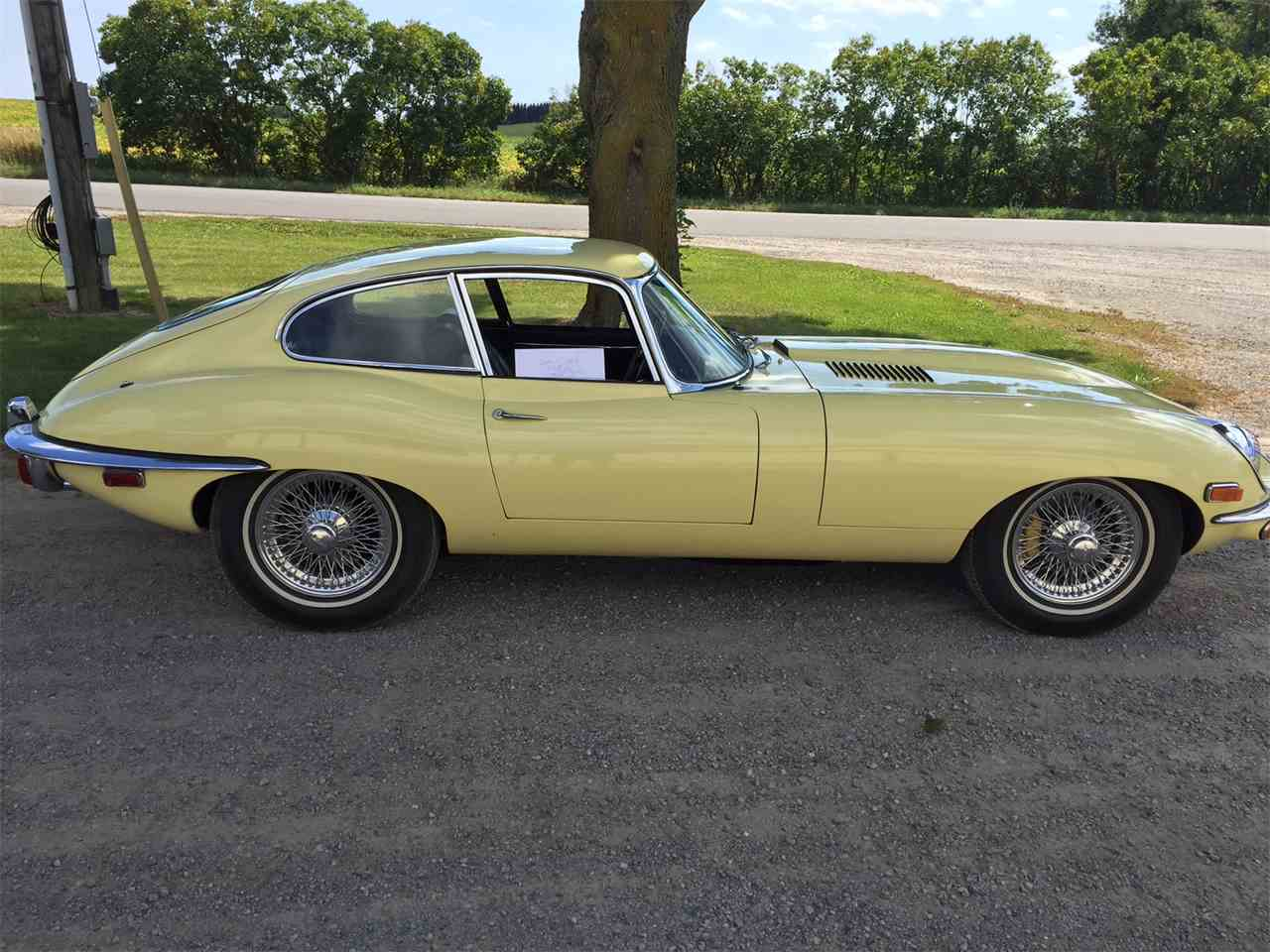 1969 jaguar e type for sale cc 684770. Black Bedroom Furniture Sets. Home Design Ideas