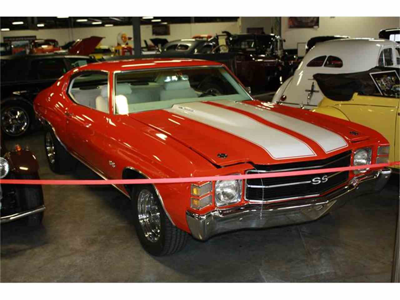 Large Picture of 1972 Chevrolet Chevelle SS located in Branson Missouri - $39,900.00 Offered by Branson Auto & Farm Museum - EPZ5