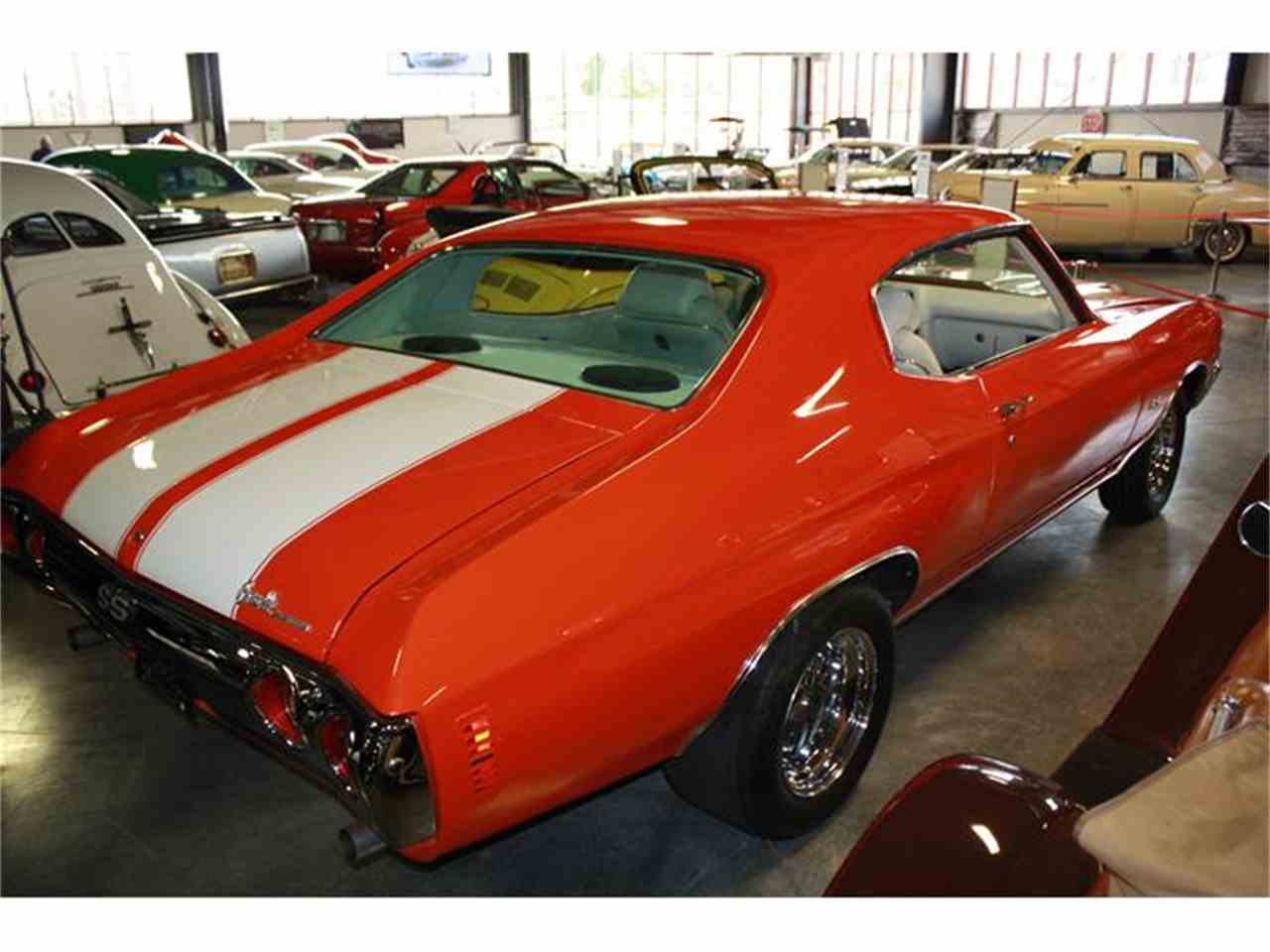 Large Picture of Classic '72 Chevelle SS Offered by Branson Auto & Farm Museum - EPZ5