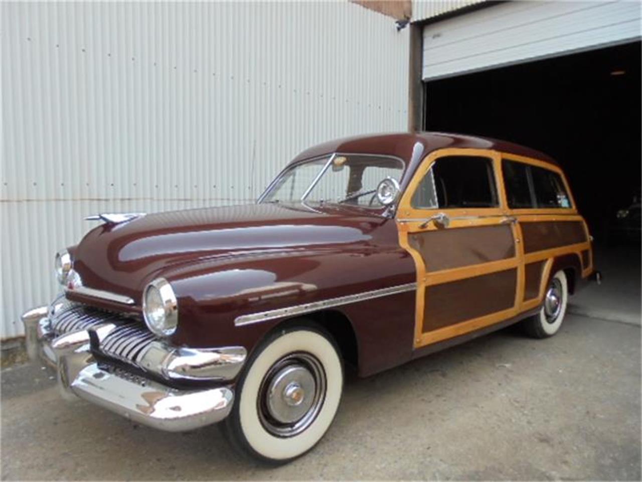Large Picture of Classic '51 Mercury Woody Wagon - EPZ9