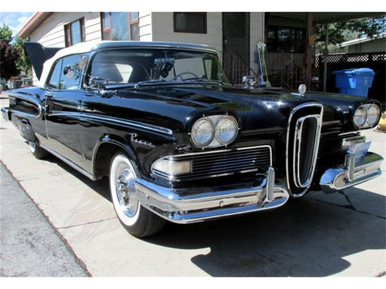 Large Picture of Classic '58 Edsel Pacer - $49,500.00 Offered by Classical Gas Enterprises - EQ8Z